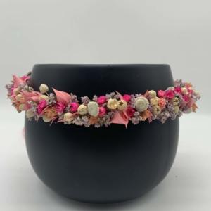 Trockenblumen Haarkränze